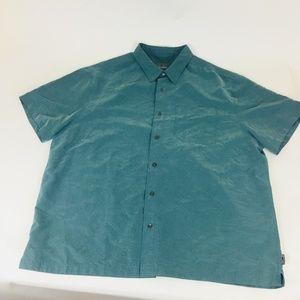 Royal Robbins Men's Button Front Modal Shirt XXL